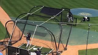 Yankees prospect Abiatal Avelino takes  BP