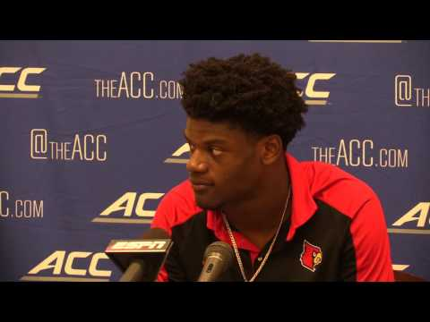 Lamar Jackson Virginia Post-Game 10-29-2016