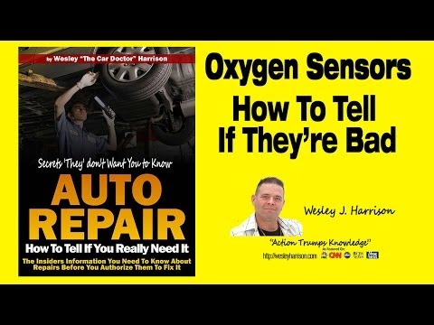 Oxygen Sensor | Is It Really Bad? | How to Tell if You Need One | O2 |Test|Repair |Code|Check Engine