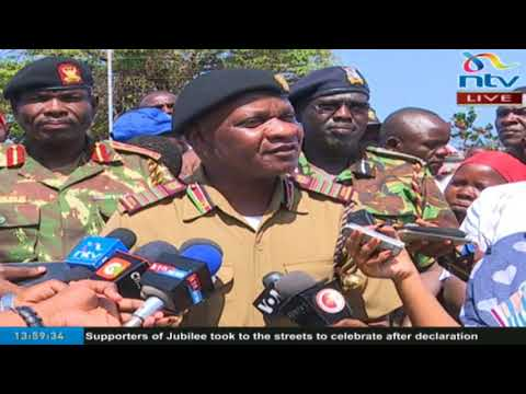 Coast Regional Coordinator Nelson Marwa on the state of security in the region