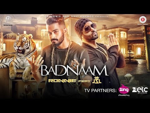 Badnaam - Official Music Video   Ronnie Singh   JSL Singh   Latest Punjabi Songs 2016