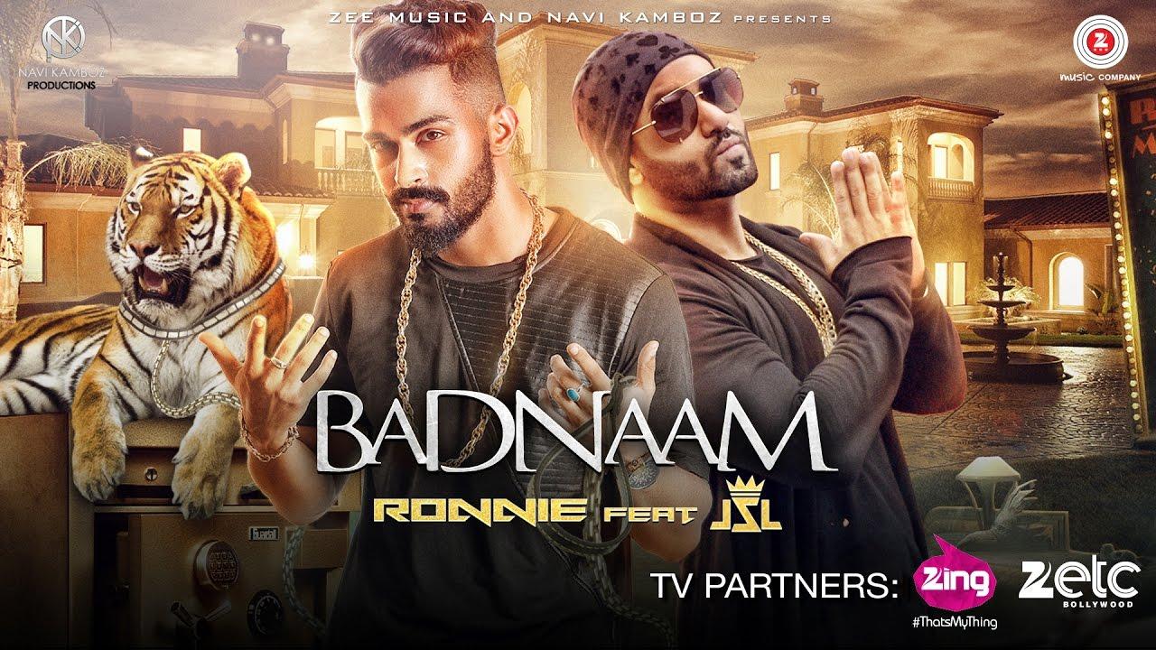 Badnaam Official Music Video Ronnie Singh Jsl Singh Latest