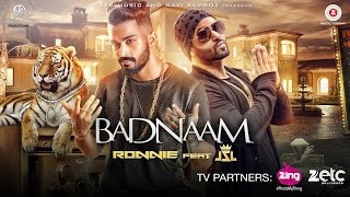 Badnaam - Official Music Video | Ronnie Singh | JSL Singh | Latest Punjabi Songs 2016