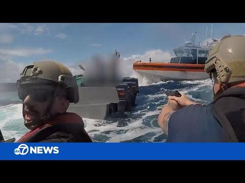 Dramatic Video: Coast Guard seizes 18,000 lbs of suspected cocaine worth estimated $312 million