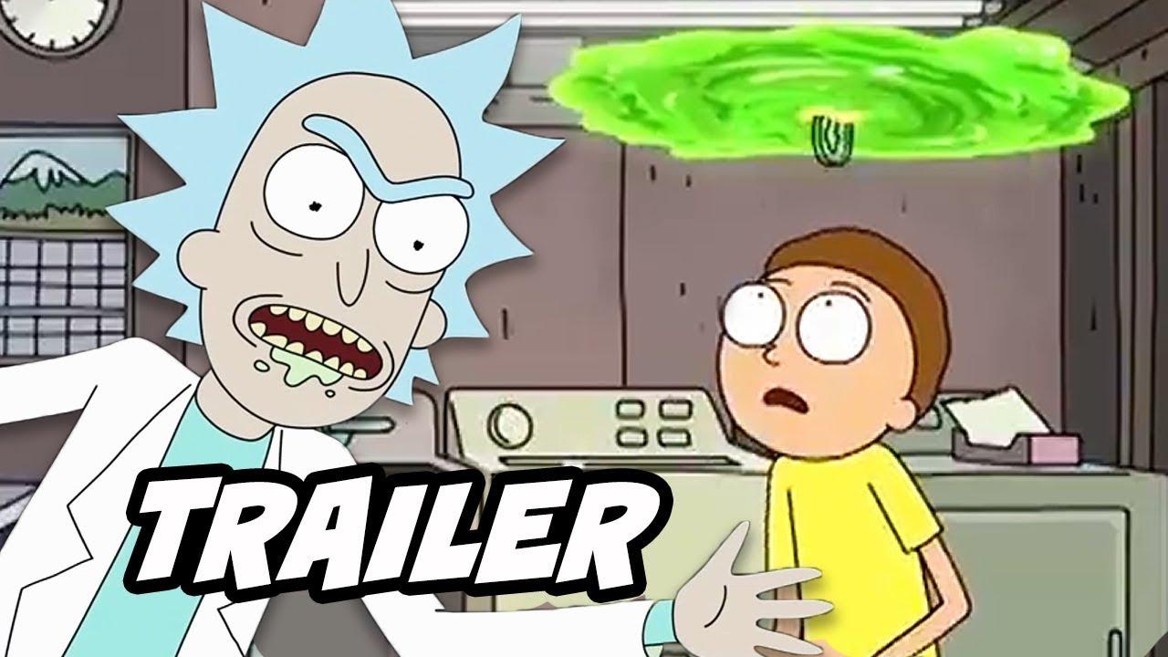Rick And Morty Season 4 Teaser Trailer Rick And Morty