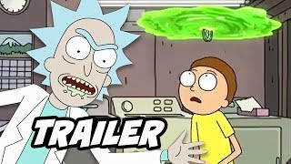 Rick and Morty Season 4 Teaser Trailer - Rick and Morty Season 5 Episodes Breakdown