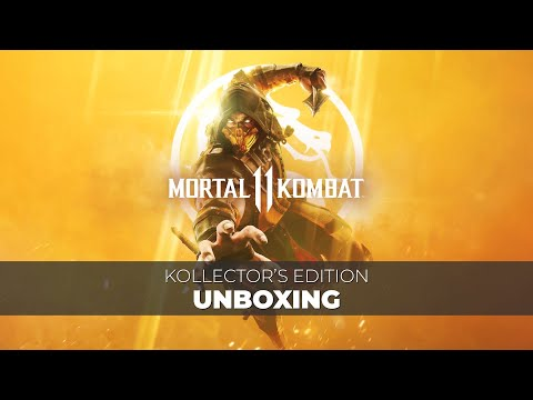 mortal kombat 11 kollector s edition unboxing