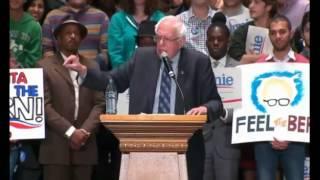 Bernie Sanders Campaign Rally In Atlanta, GA on November 23, 2015 w/ intro from Killer Mike