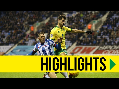 HIGHLIGHTS: Wigan Athletic 2-2 Norwich City
