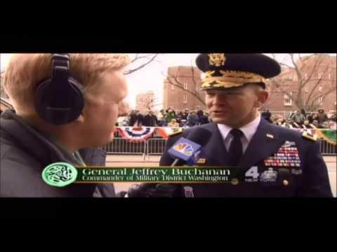 General Jeffrey Buchanan Commander of Military District Washington 2014 parade