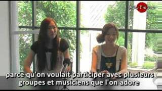 Interview du groupe japonais HalCali lors du Japan Expo 2007.