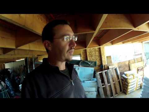 Wood Pellet Delivery - 118 - My DIY Garage Build HD Time Lapse