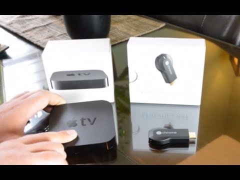 chromecast vs apple tv iphone