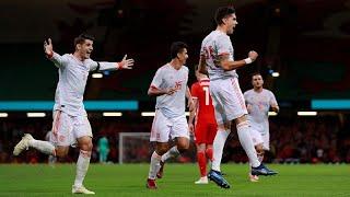 España vapulea a los Dragones Rojos de Gales