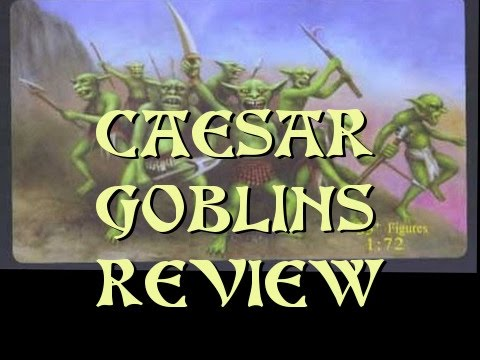 Miniature Mash-up Caesar Goblins Reviewed & Painted