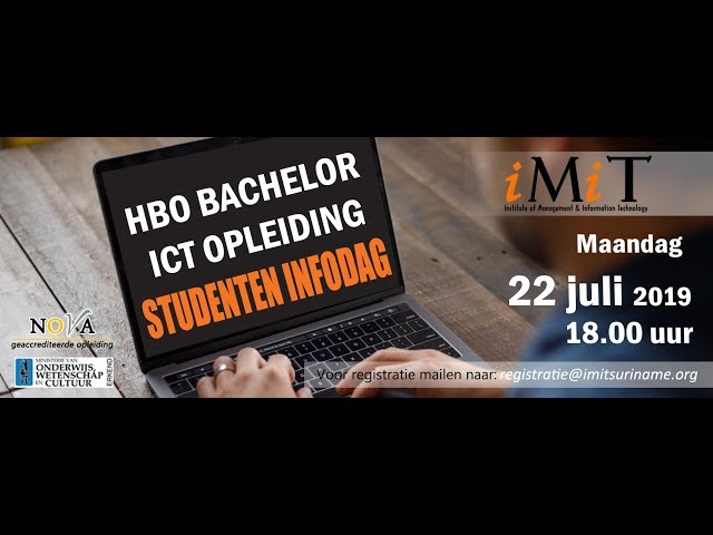 OPEN DAG 22.7.19 @ IMIT (FULL MOVIE COMING OUT SOON)