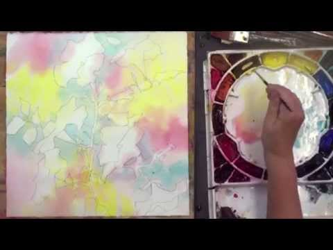 Preview | Watercolor Making Your Mark, Part 2, with Karlyn Holman