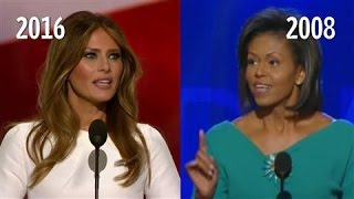 Melania Trump/Michelle Obama Speech Similarities