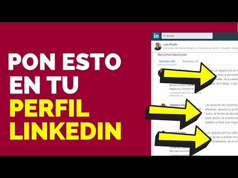 Cómo pedir una recomendacion de perfil de LinkedIn