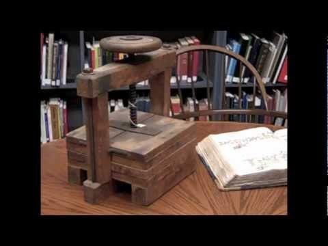 Historical Gem: Antique Copy Press