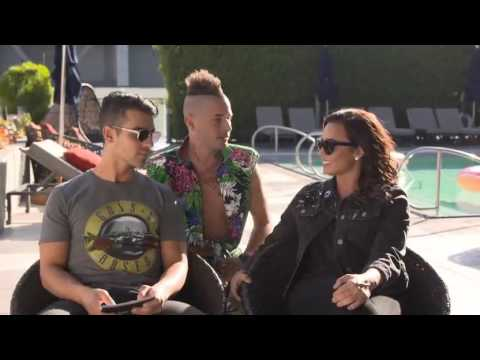 Download Poolside LIVE with Demi Lovato and DNCE - September 22, 2016