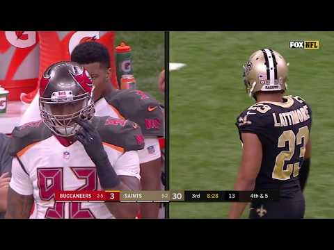 Winston & Evans' Sideline Scuffle w/ Lattimore, Coach Payton Furious | Bucs vs. Saints | NFL Wk 9