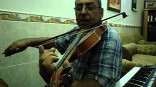 دورة تعليم الكمان الدرس الرابع
