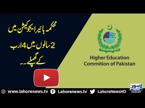 Embezzlement in HEC: No record revealed to be presented for audit