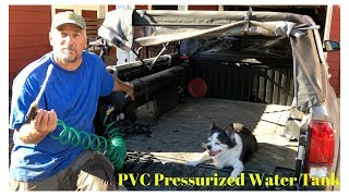 DYI: PVC Pressurized Water System on a Toyota Tacoma thumbnail