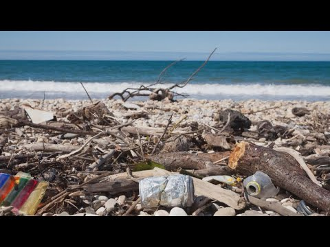 The top 10 most common beach trash items