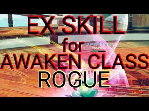 AVABEL ONLINE - EX SKILL AWAKEN CLASS (ROGUE)