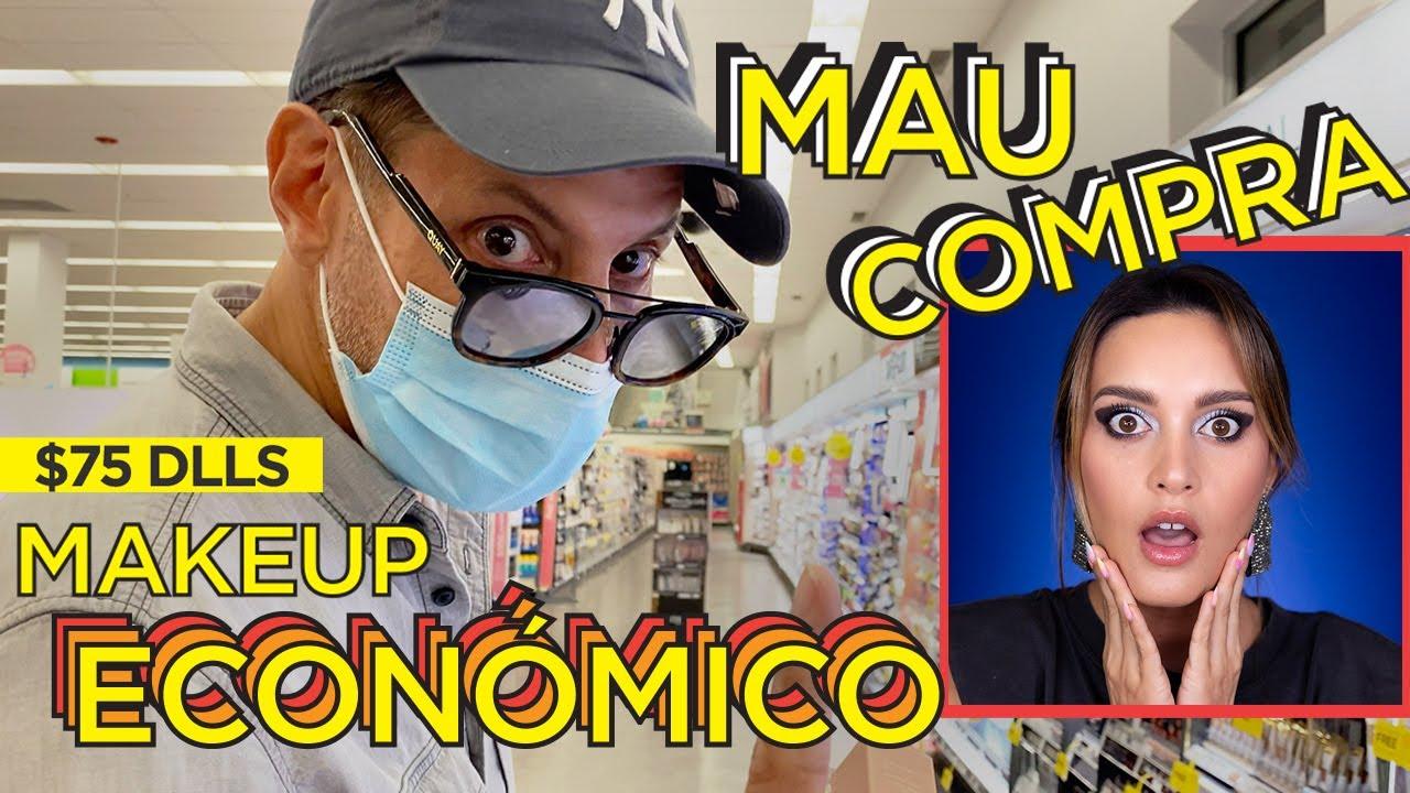 MI ESPOSO COMPRA TODO MI MAKEUP 2.0 CON SÓLO $75 USD / $1,500 PESOS | PAU FLORENCIA