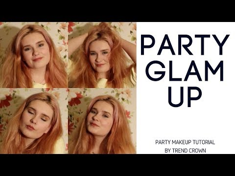 Tutorial: Apply Party Makeup at Home for Beginners