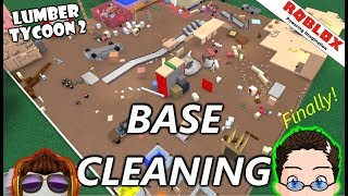 Roblox - Lumber Tycoon 2 - Base Cleaning (finally)