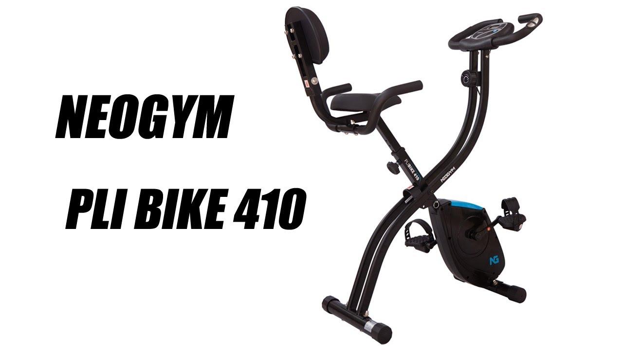neogym pli bike 410 v lo d 39 appartement tool fitness youtube. Black Bedroom Furniture Sets. Home Design Ideas