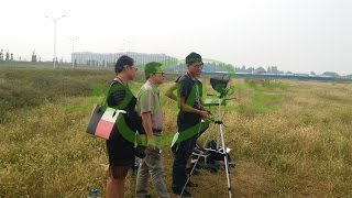 Malaysian partner visit Joyance and view spraying demo