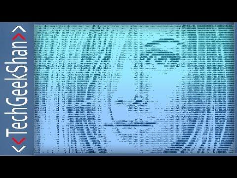 Convert Videos into ASCII text using VLC Player