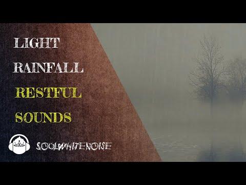 Light Rainfall Sounds To Help You To Fall Asleep And To Stay Sleeping