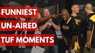 Funniest UN-AIRED Ultimate Fighter Moments - TOP 5 thumbnail
