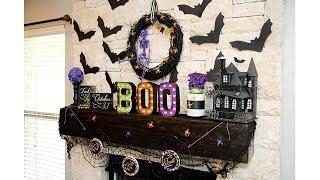 Halloween Mantel Decoration Ideas 6
