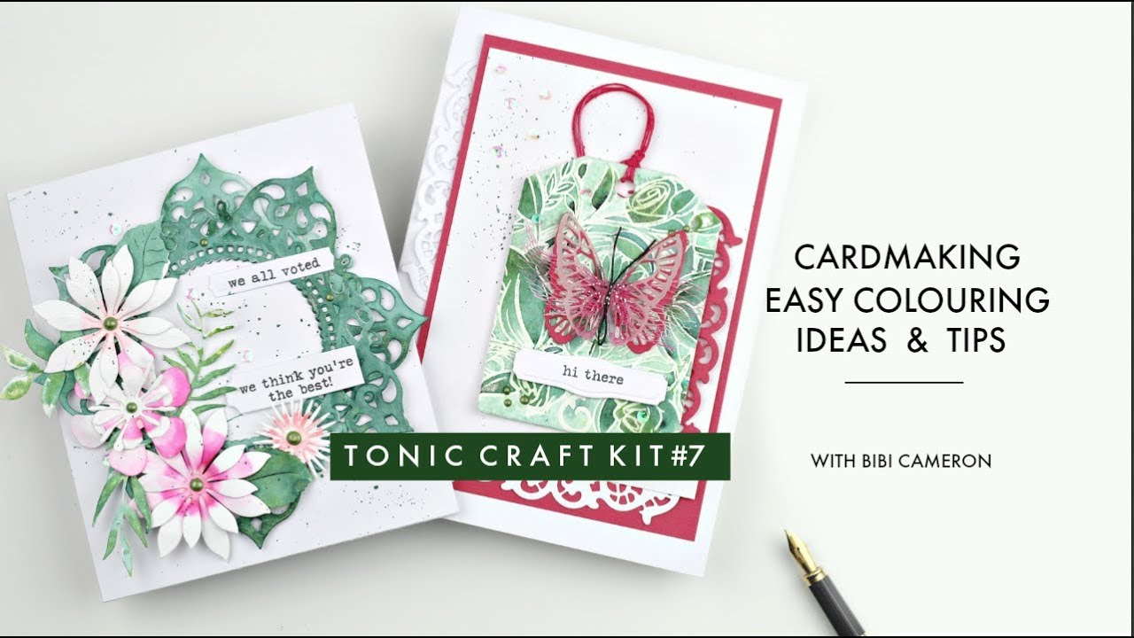 Tonic Craft Kit 7 With Bibi Easy Coloring Ideas And Tips Youtube