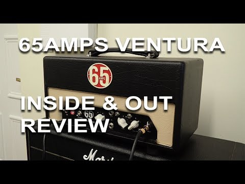 65Amps Hand Made Amp - Ventura 1960's Tones on Tap Inside and Out Full Review   tonymckenzie