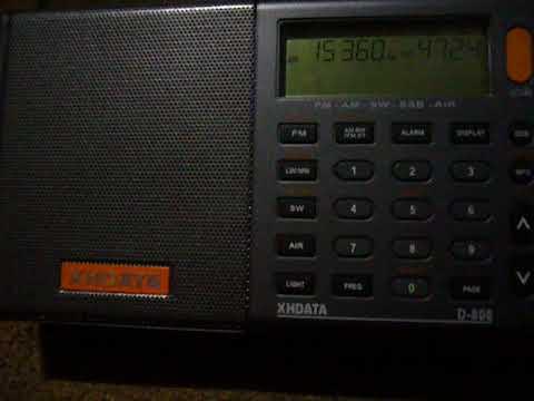 15360 kHz TWR Swaziland on D-808 & T2FD