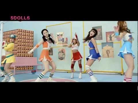 [MV Full HD] 5Dolls (파이브돌스) - 이러쿵 저러쿵 (Like This Or That)