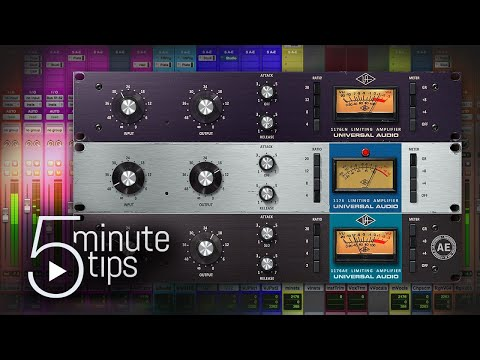 5 Minute UAD Tips: 1176 Classic Limiter Plug-In Collection