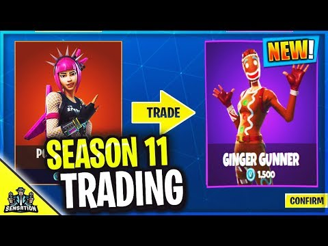 *NEW* Fortnite Season 11 TRADING SKINS System