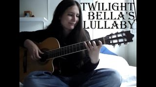 Twilight  Bella's Lullaby  Guitar (w/ TABS!!!) guitar cover