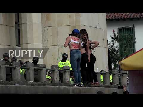 Colombia: Students hold mass protest in defence of public universities