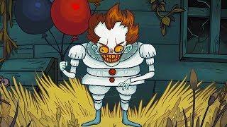 ТРОЛЛИМ КЛОУНА ПЕННИВАЙЗ И ДРУГИЕ ХОРРОРЫ В МАЙНКРАФТЕ МУЛЬТИК - Troll Face Quest Horror 2