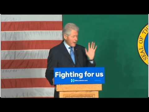 "Bill Clinton Slams Obama's ""Awful Legacy"""